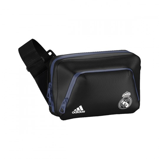 Bolsa  adidas Bandolera Real Madrid 2016-2017 Black-White