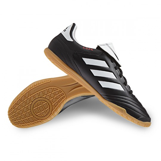 Zapatilla de fútbol sala  adidas Copa 17.4 IN Core black-White-Core black