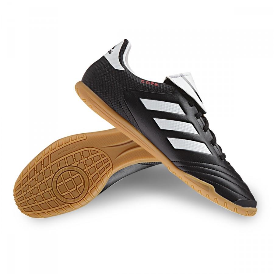 reputable site 67d41 c9ae4 Futsal Boot adidas Copa 17.4 IN Core black-White-Core black - Football  store Fútbol Emotion