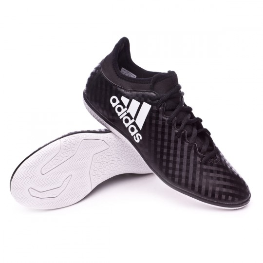 Zapatilla de fútbol sala  adidas X 16.3 IN Core black-White-Core black