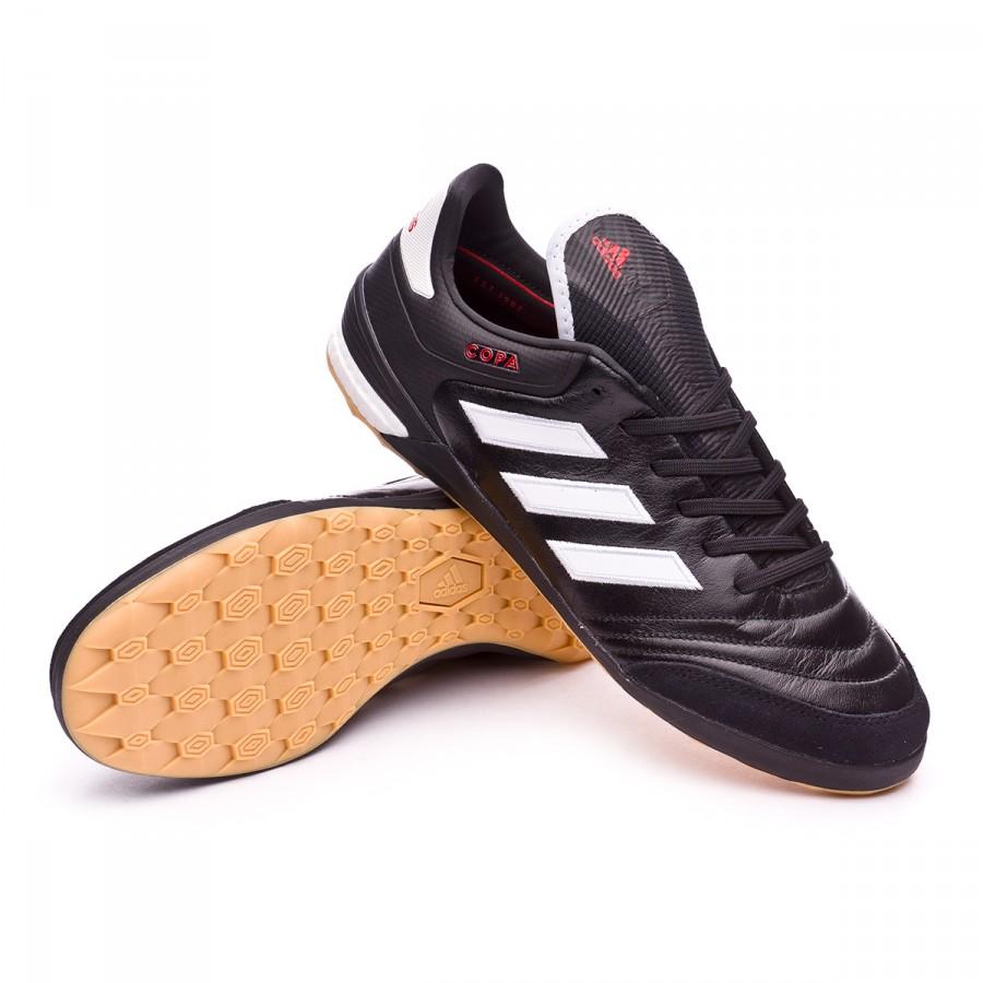 6c95ba1657a9f Futsal Boot adidas Copa Tango 17.1 IN Core black-White-Core black ...