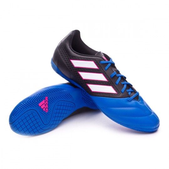Scarpa  adidas Ace 17.4 IN Core black-White-Blue
