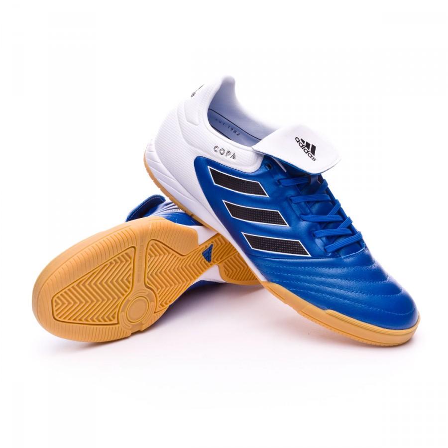 b1efefeb09028 Futsal Boot adidas Copa 17.3 IN Blue-Core black-White - Football ...
