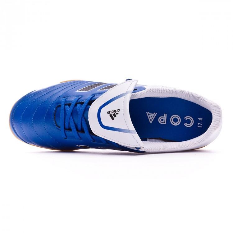 zapatilla-de-futbol-sala-adidas-copa-17.4-in-. adidas. Zapatilla Copa 17.4  IN Blue-White-Core black ... 2e5b0c3825a36