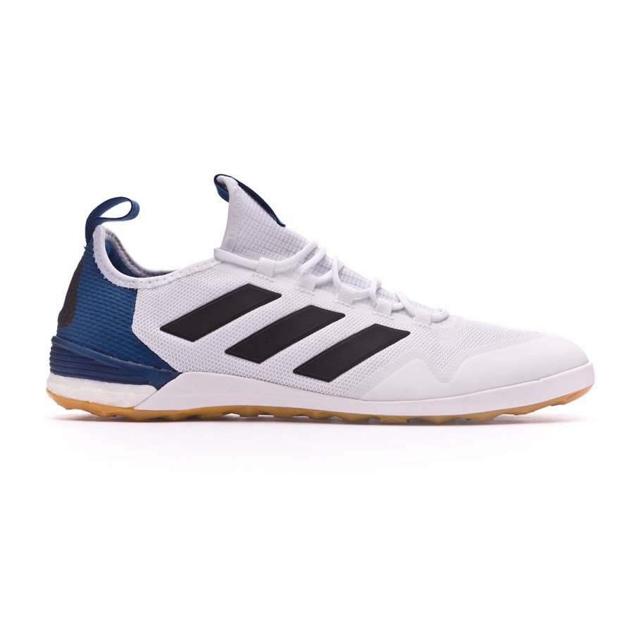 1406639ea Futsal Boot adidas Ace Tango 17.1 IN White-Core black-Mystery blue -  Football store Fútbol Emotion