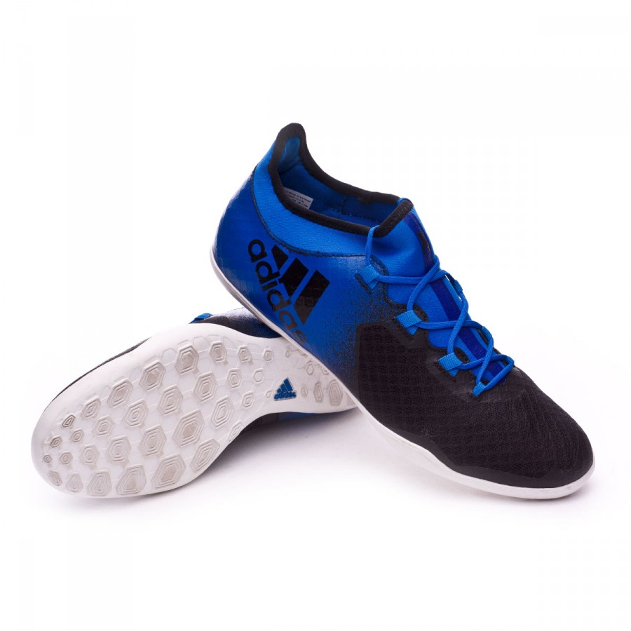 40d000dece311 Futsal Boot adidas X Tango 16.2 IN Blue-White-Core black - Football ...