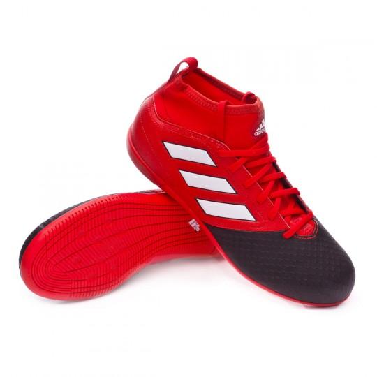 Zapatilla de fútbol sala  adidas jr Ace 17.3 Primemesh IN Red-White-Core black