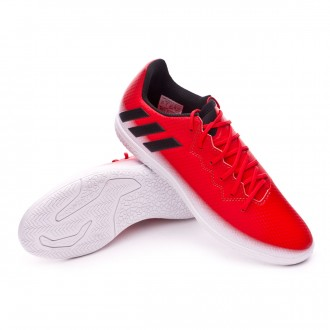 Sapatilha de Futsal  adidas Jr Messi 16.3 IN Red-White-Core black