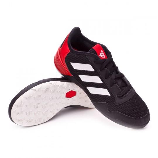 Zapatilla de fútbol sala  adidas jr Ace Tango 17.2 IN Black-White-Red