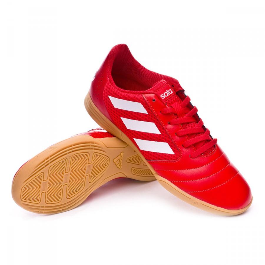 d96ba77c08036 Futsal Boot adidas Ace 17.4 Sala Kids Red-White-Scarlet - Football ...