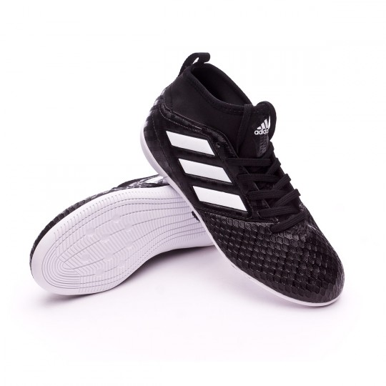 Zapatilla de fútbol sala  adidas jr Ace 17.3 IN Core black-White-Core black