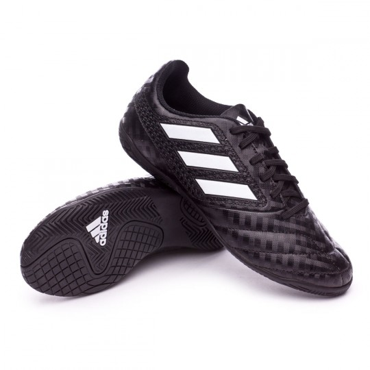 Zapatilla de fútbol sala  adidas jr Ace 17.4 IN Core black-White-Core black