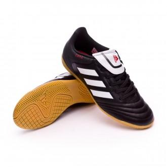 Sapatilha de Futsal  adidas Jr Copa 17.4 IN Core black-White-Core black