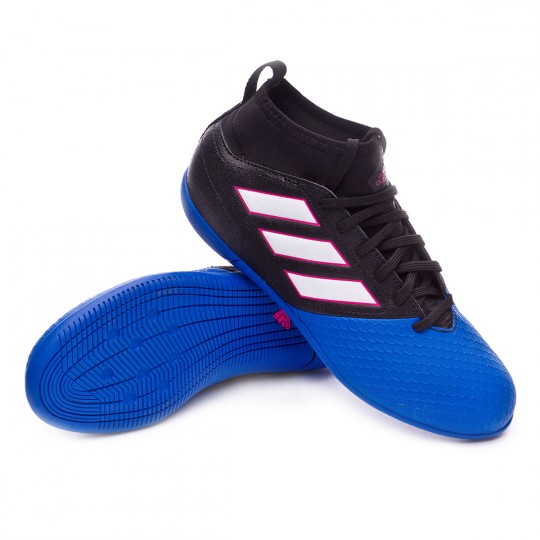 Scarpa  adidas jr Ace 17.3 IN Core black-White-Blue