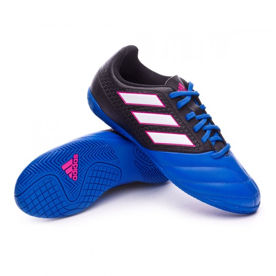 Scarpa  adidas jr Ace 17.4 IN Core black-White-Blue