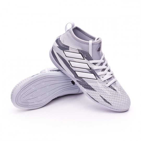 Chaussure de futsal  adidas jr Ace 17.3 IN Clear grey-White-Core black