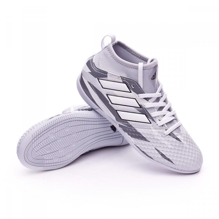 14f5689008b31 Futsal Boot adidas Jr Ace 17.3 IN Clear grey-White-Core black ...