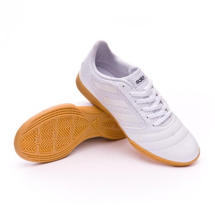 big sale 049bf 62b8f Zapatilla Ace 17.4 Sala Niño Clear grey-White-Core black