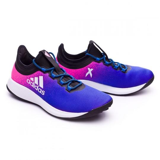 Zapatilla  adidas X Tango 16.2 TR Shock pink-White-Blue
