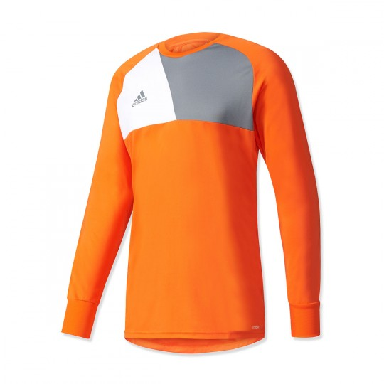 Camisola  adidas Assita 17 GK Solar orange-Grey-White