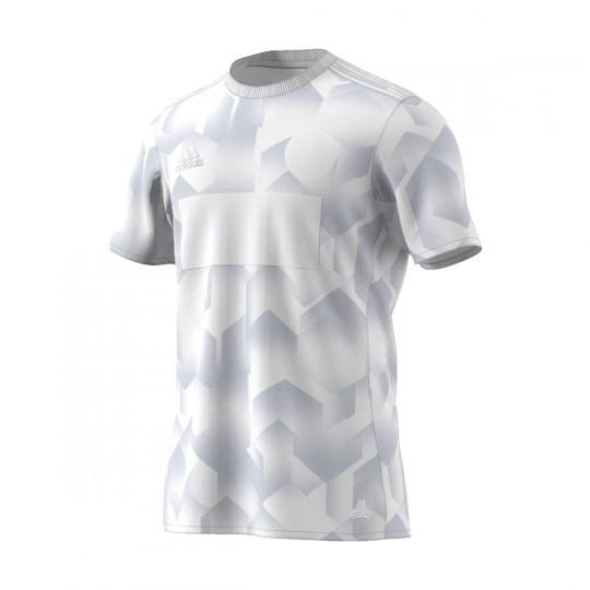 Camiseta  adidas Tango White-Grey