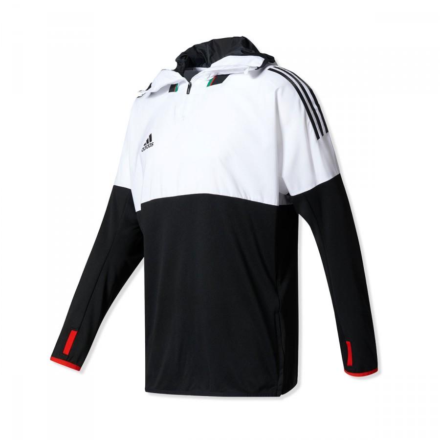 Sudadera adidas Training Top Tango F Black-White - Soloporteros es ... 1e9c7bf75ba0b