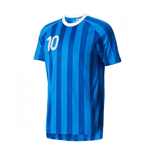 Camiseta  adidas Tanip CC Blue-White