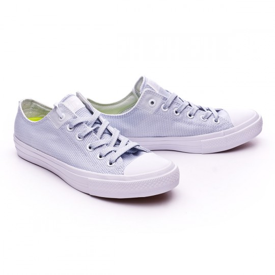 Sapatilha  Converse Chuck Taylor All Star II OX White-Blue Granite-White