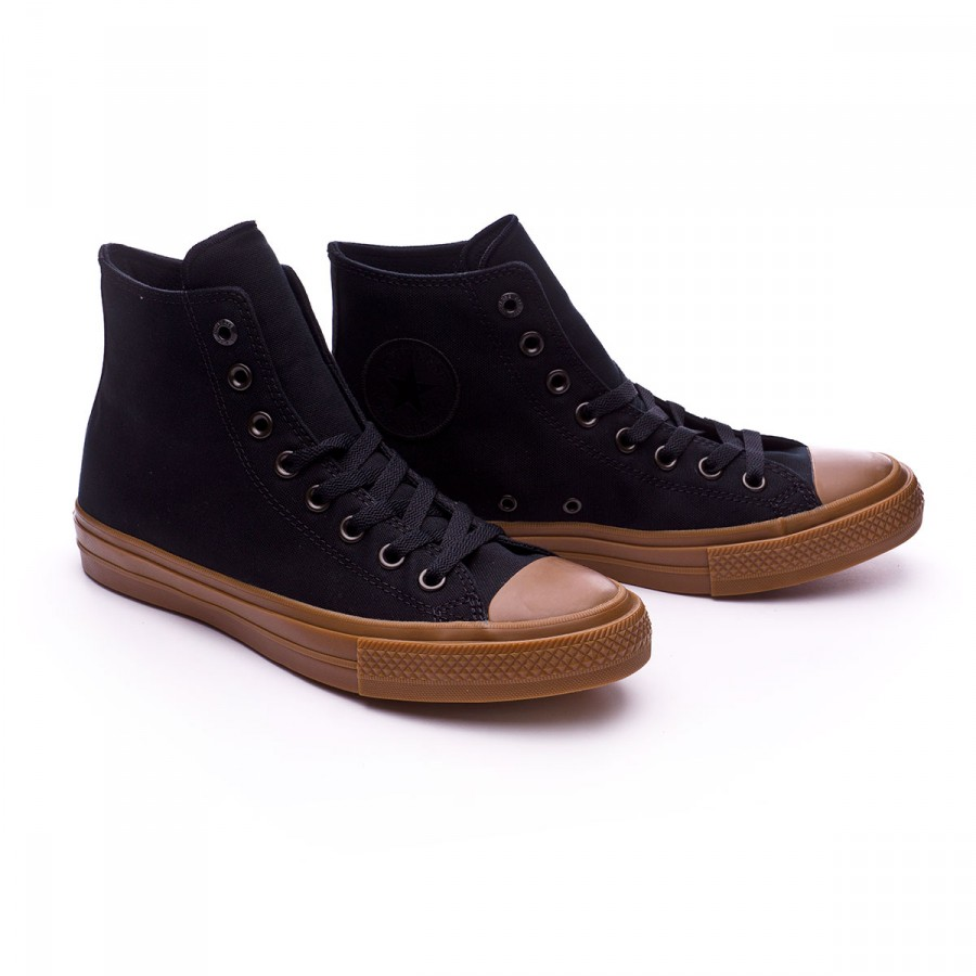 9713ddc4512c Trainers Converse Chuck Taylor All Star II HI Black-Gum - Football ...