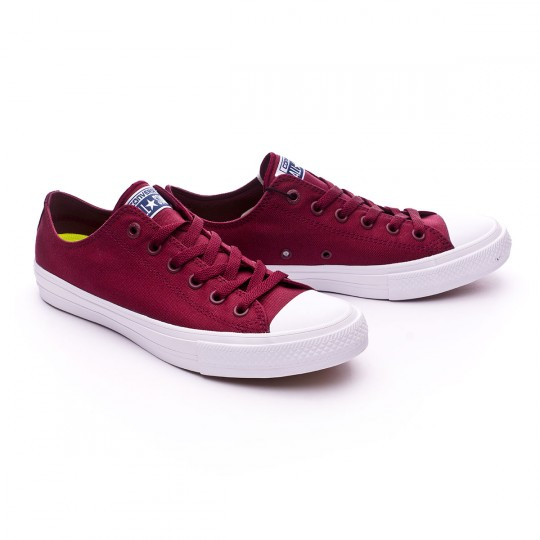 Sapatilha  Converse Chuck Taylor All Star II OX Deep Bordeaux-White-Navy