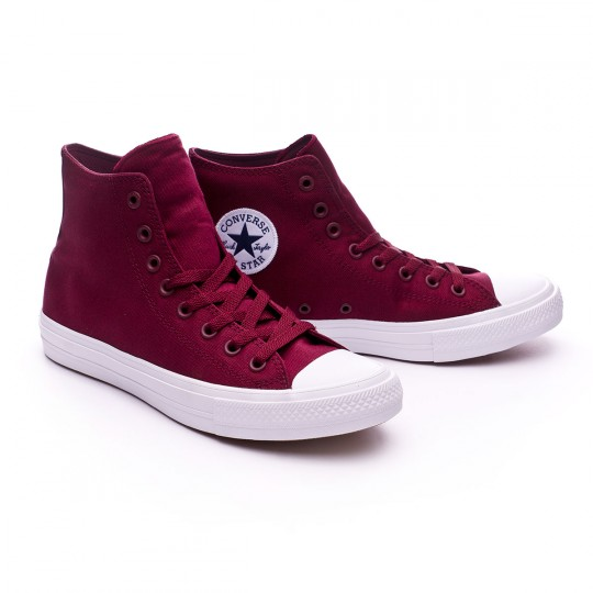 Sapatilha  Converse Chuck Taylor All Star II HI Deep Bordeaux-White-Navy