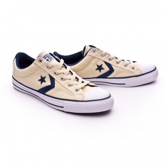 Sapatilha  Converse Star Player OX Natural-Navy-White