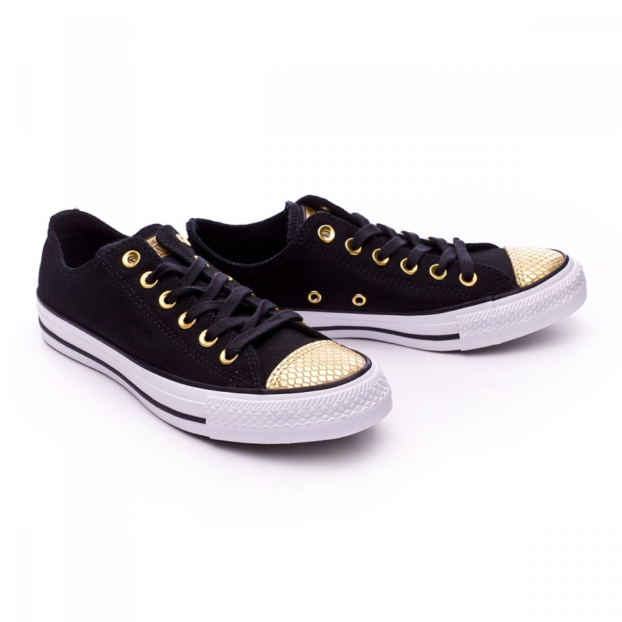 694743123 Trainers Converse Chuck Taylor All Star Metallic Toecap OX Mujer ...