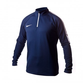 Sweatshirt  Nike Dry Academy Football Midnight navy-white