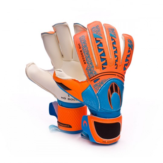 Guante  HO Soccer SSG Ikarus Roll Finger Orange-Blue-Black