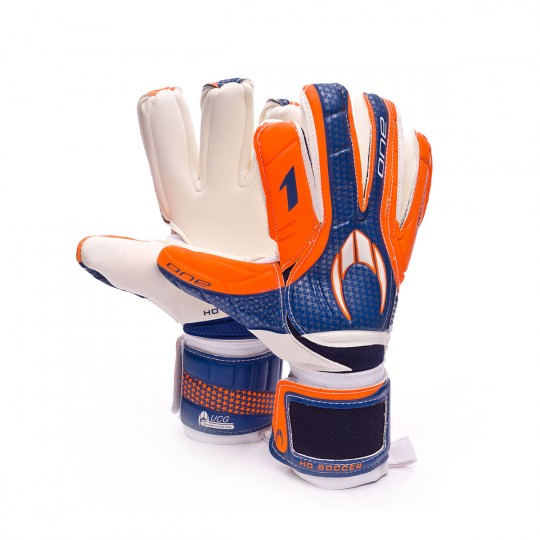 Luvas  HO Soccer One Negative (UCG) Blue-Orange-White