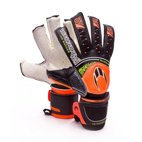 Guante  HO Soccer Ikarus Roll-Negative Black-Grey-Orange