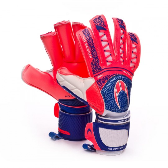 Luvas  HO Soccer Ikarus Ergo Roll Finger Pink-Blue-Navy