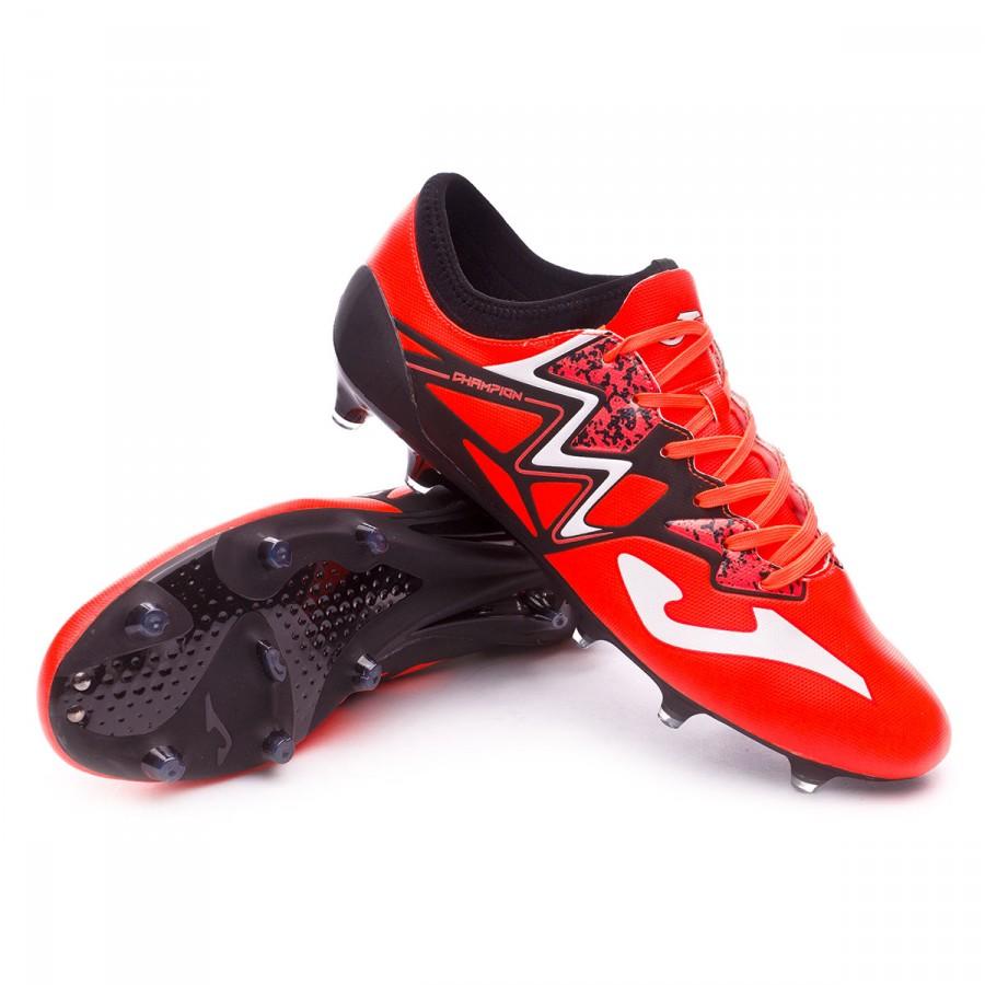 4595f0ffbb9b1 Football Boots Joma Champion Max FG Orange-Black-White - Football ...