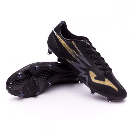 Chaussure  Joma Propulsion Lite FG Black-Gold-White