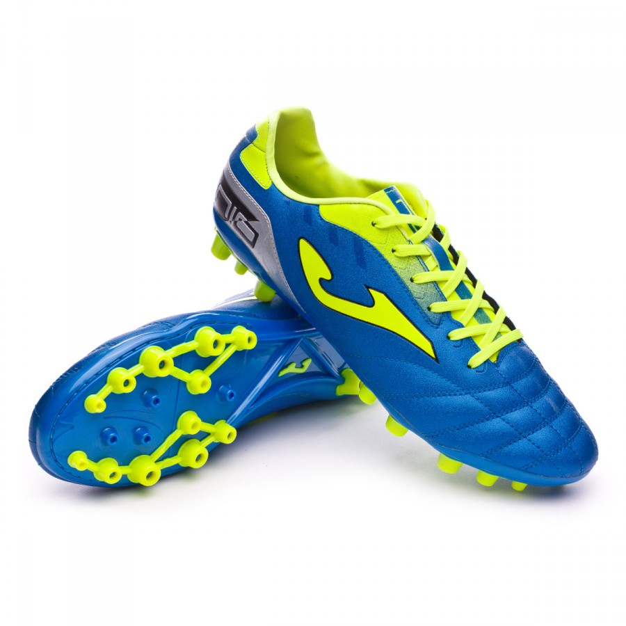 29b37c4013 Chuteira Joma N-10 AG Blue-Volt - Loja de futebol Fútbol Emotion