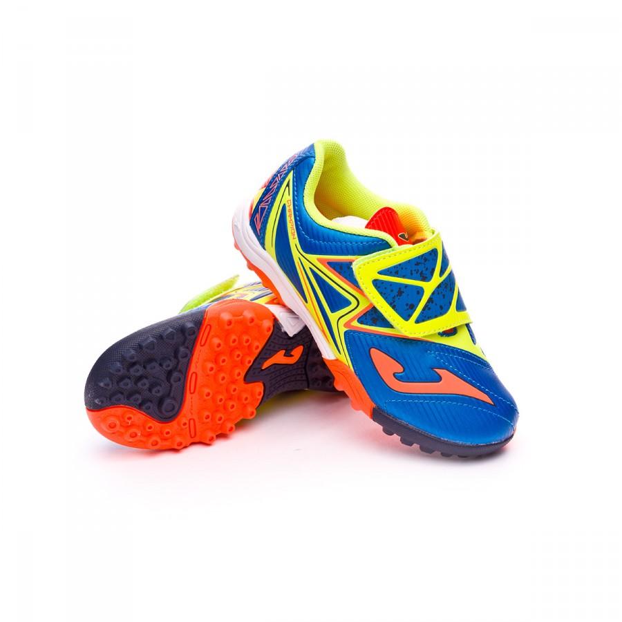 7b56df060f Zapatilla Joma Champion Turf Niño Blue-Volt-Orange - Soloporteros es ahora  Fútbol Emotion