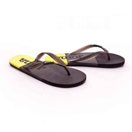 Chanclas  Joma Water Black-Grey-Yellow