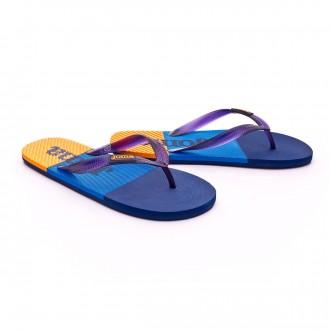Chinelos  Joma Water Blue-Navy-Orange