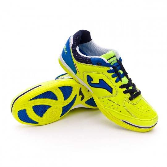 Zapatilla de fútbol sala  Joma Top Flex Yellow-Blue
