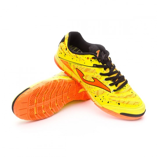 Zapatilla de fútbol sala  Joma Super Regate Yellow-Orange