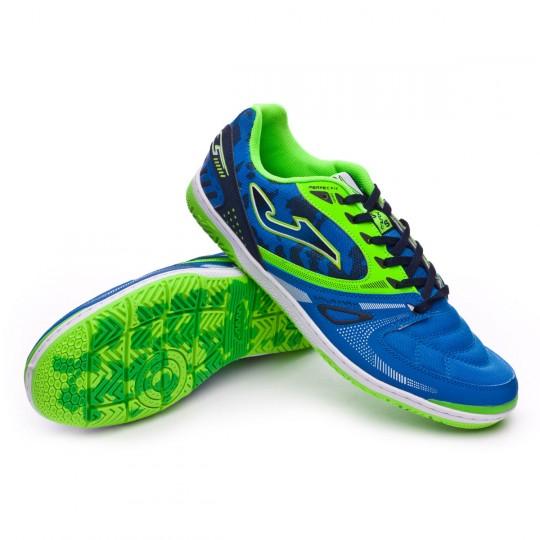 Chaussure de futsal  Joma Sala Max Blue-Green