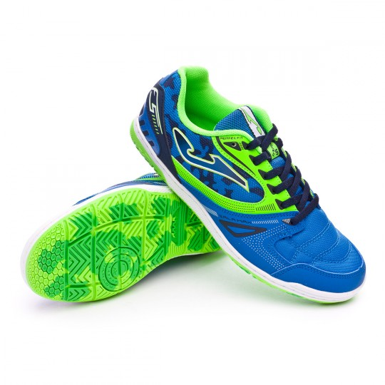 Sapatilha de Futsal  Joma jr Sala Max Blue-Green