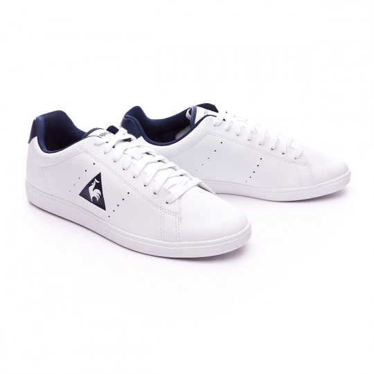 Zapatilla  Le coq sportif Courtone S Lea Optical white-Dress blue