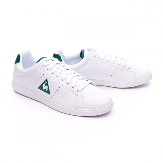 Zapatilla  Le coq sportif Courtone S Lea Optical white-Evergreen